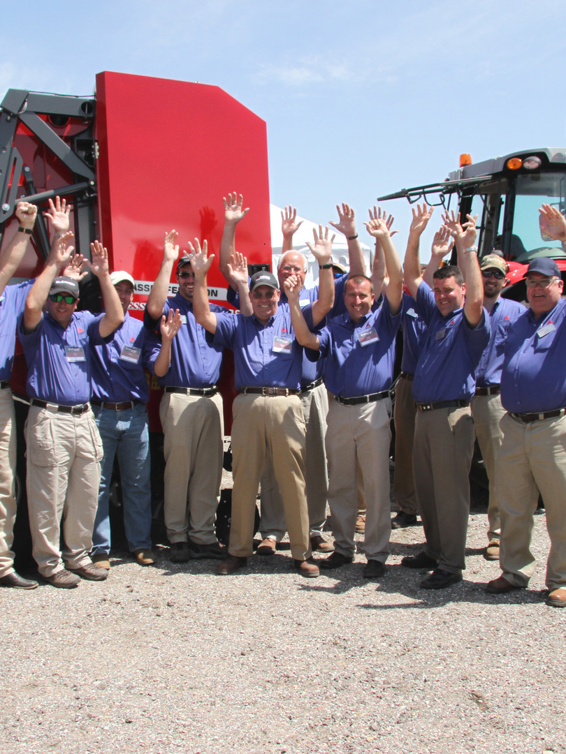 AGCO celebrates the success of their training event
