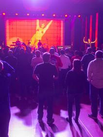 Corporate event concert