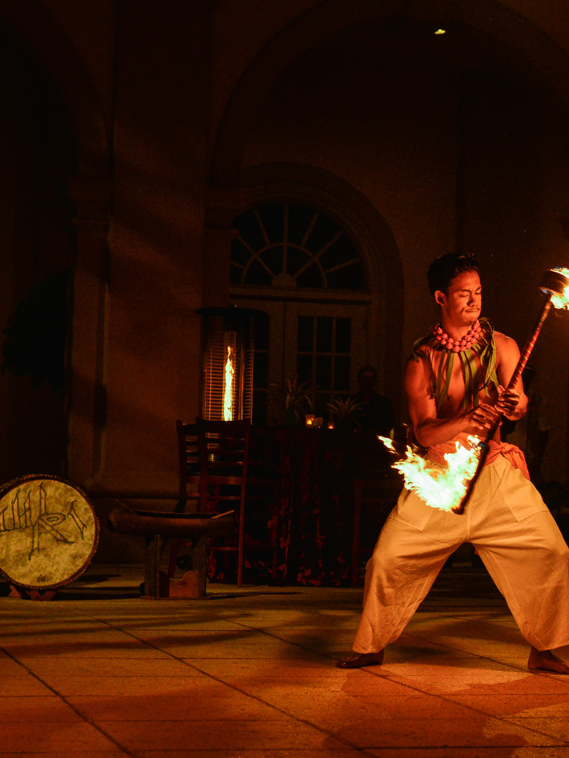 Fire dancers hired for corporate event