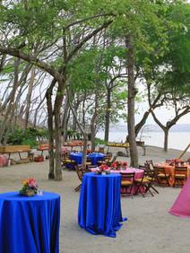 Outdoor decor on Costa Rican beach