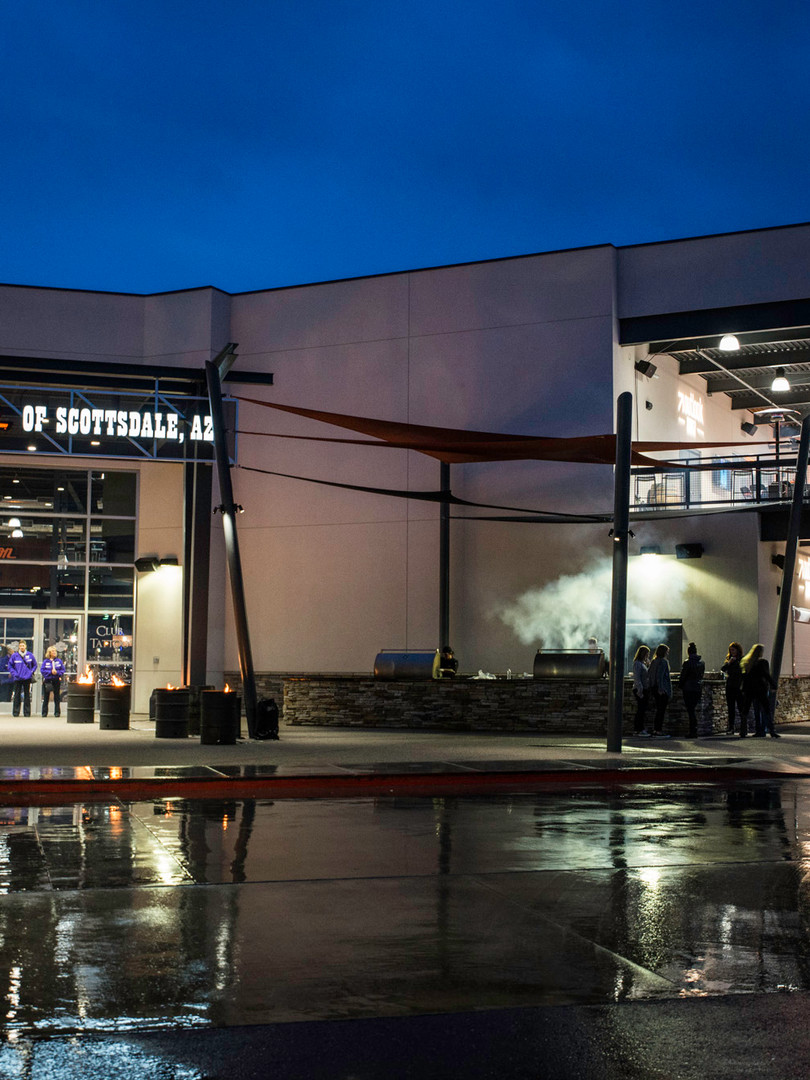 Harley Davidson shop as event venue