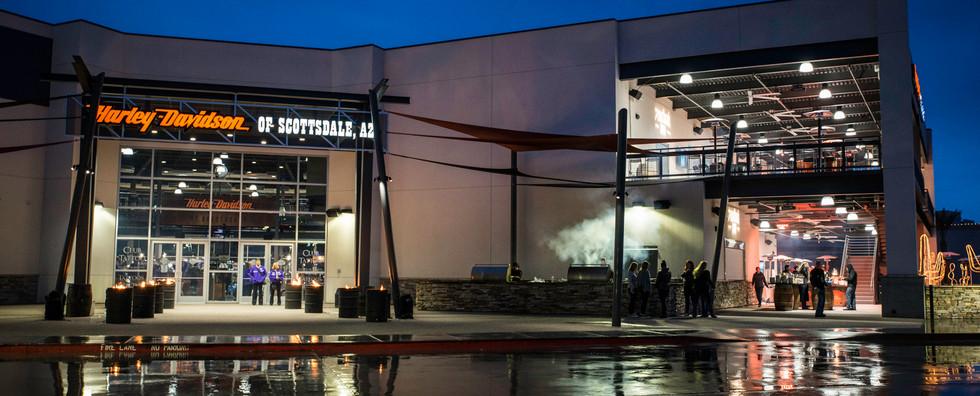 Harley Davidson of Scottsdale entrance