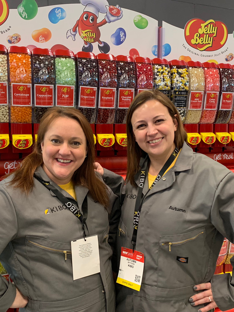 Jelly Belly trade show booth