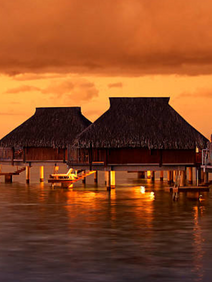 Overwater bungalow venue selection sourced for memorable incentive trip