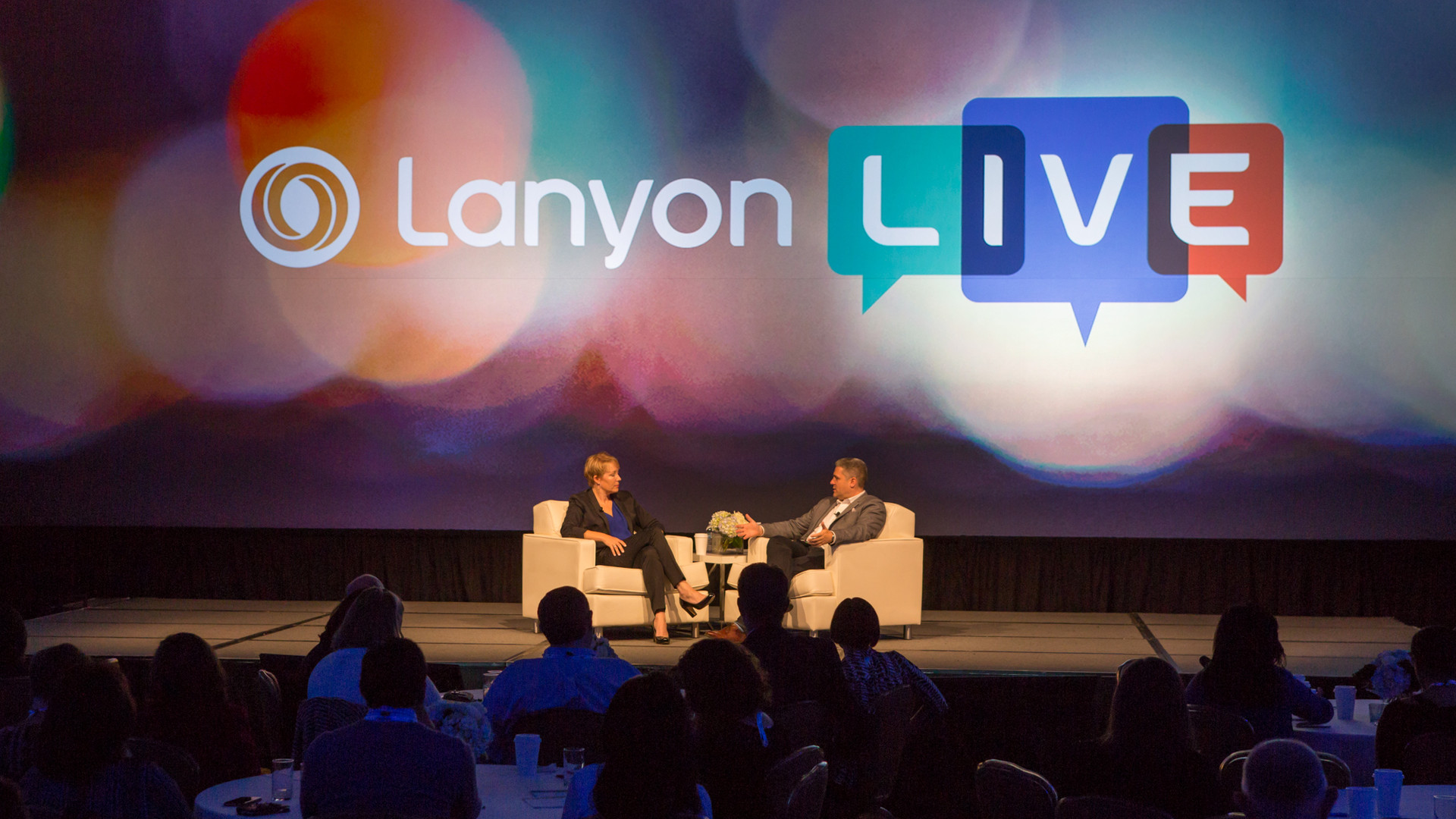 Shark tank interview at Lanyon Live Conference