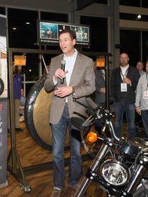 Raffle giveaway of motorcycle