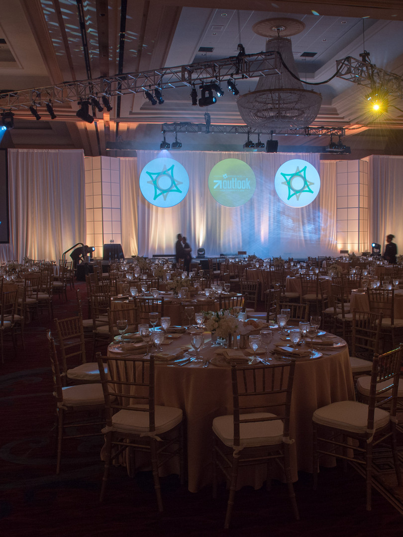 Awards ceremony dinner