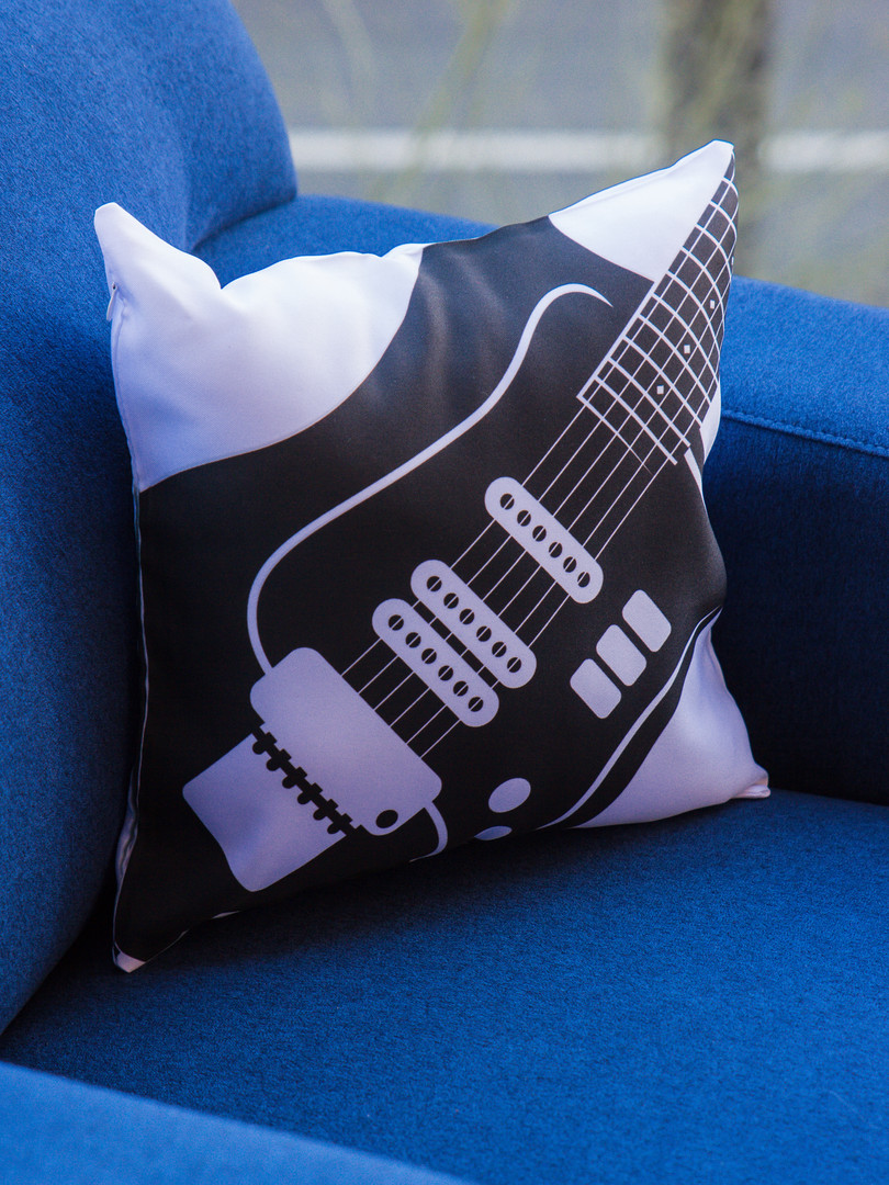 Guitar pillow