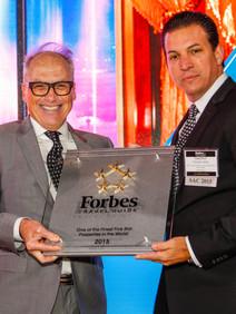Awards ceremony for 5 Star luxury resort