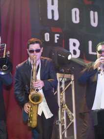 House of Blues band performing at user conference customer event