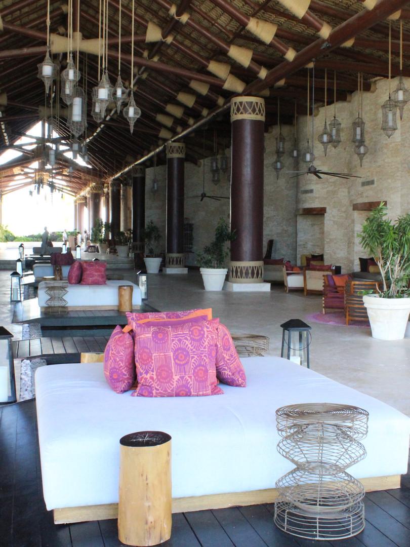 Bali lounge area