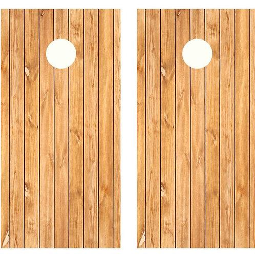 Bead Board Wood Cornhole Wood Board Skin Wrap