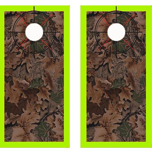 Realtree Camo Cornhole Wood Board Skin Wrap