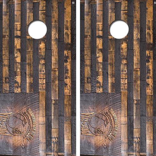 POW American Flag Wood Cornhole Board Wraps FREE LAMINATE