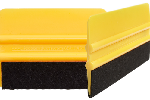 """6"""" Squeegee with Felt Edge"""