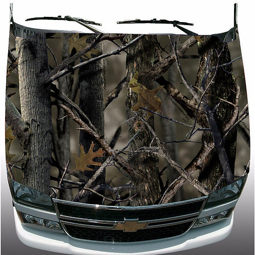 Real-Tree-Camo-Hood-Wrap-Vinyl-Graphic-Decal-Sticker-Wrap-Car-or-Truck