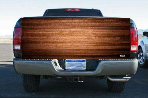 Solid Red Wood Chest Tailgate Wrap Vinyl Graphic Decal Sticker Wrap