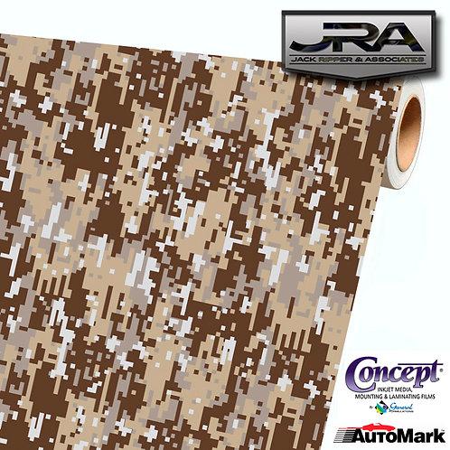 URBAN DESERT Digital Camouflage Vinyl Car Wrap Camo Film Decal Sheet Roll