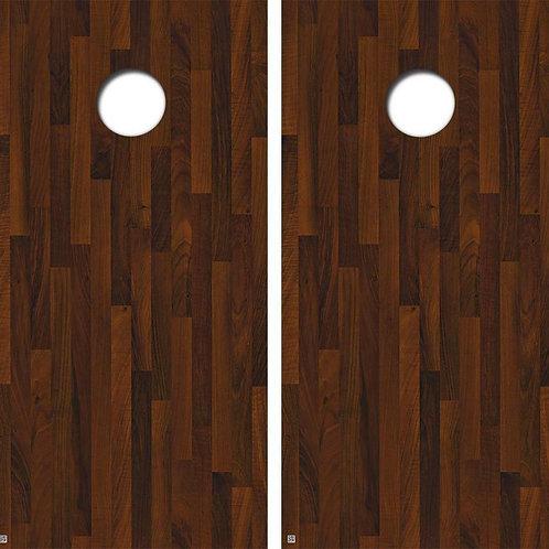 Black Walnut Wood Cornhole Wood Board Skin Wrap