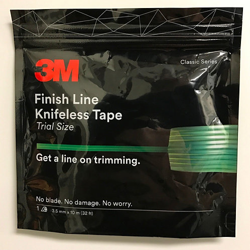 3M FINISH LINE KNIFELESS TAPE FOR GRAPHICS WRAPS 1/8''X32' 3.5MM X10 M