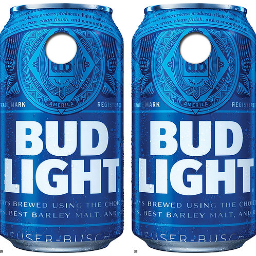 Bud Light Can  Cornhole Board Skin Wraps FREE LAMINATE