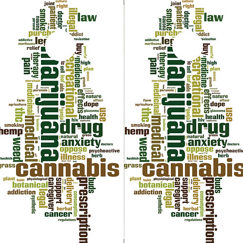 Cannabis Cornhole Wrap FREE LAMINATE