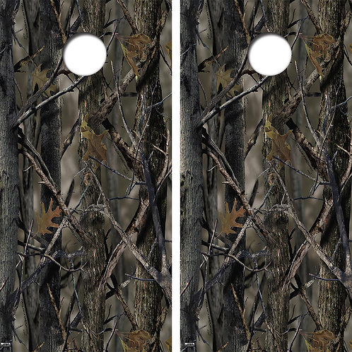 Woods Camo Board Skin Wrap FREE LAMINATE