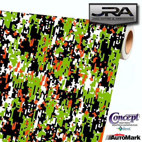 URBAN-GREEN-Digital-Camouflage-Vinyl-Car-Wrap-Camo-Film-Decal-Sheet-Roll