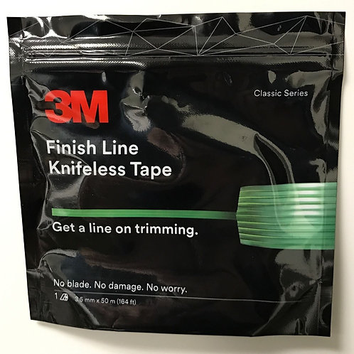 "3M FINISH LINE KNIFELESS VINYL WRAP GRAPHIC CUTTING TAPE 1/8"" x 164' (50 Meters)"
