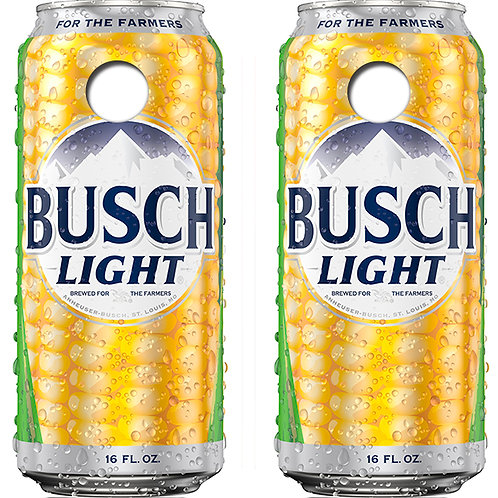 Busch Light For The Farmers Cornhole Wood Board Skin Wraps FREE LAMINATE