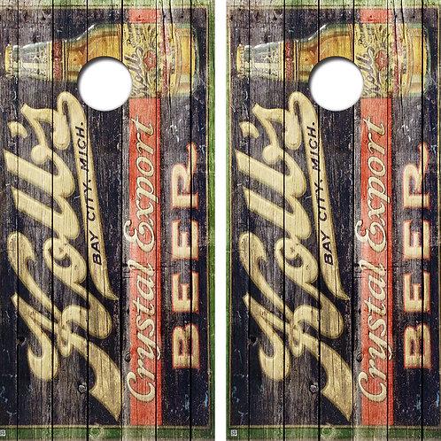 Kolls Beer Conhole Board Skin Wraps FREE LAMINATE