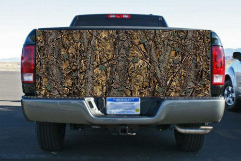 Bushwolf Hybrid Camo Truck Bed Truck Tailgate Wrap Vinyl Graphic Decal Sti