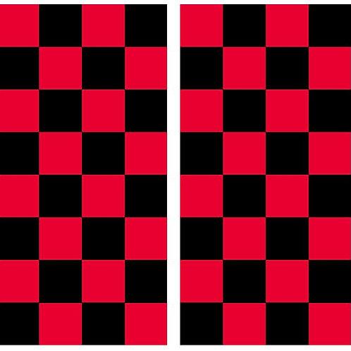 Checkers Checker Board Cornhole Wood Board Skin Wrap
