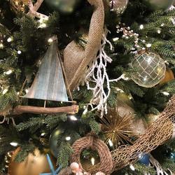 Coastal Christmas #interiorplantscaping