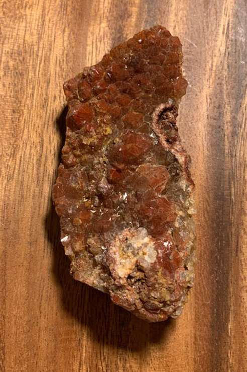 Vanadinite & Red Quartz