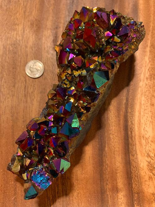 Large Titanium Aura Quartz