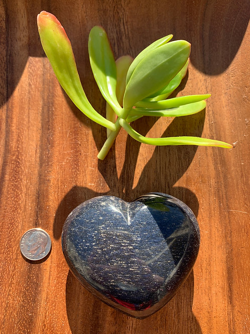 Lazulite Heart