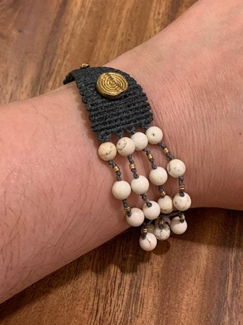 Copper Howlite 70/30 Bracelet