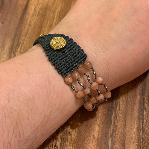 Sunstone 70/30 Bracelet