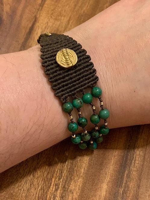 Turquoise 70/30 Bracelet