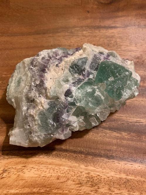 Large Raw Fluorite