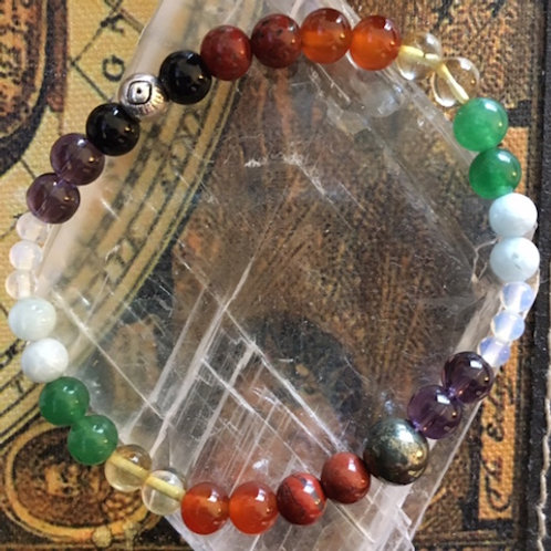 Handmade CHAKRA with a CAUSE Bracelet