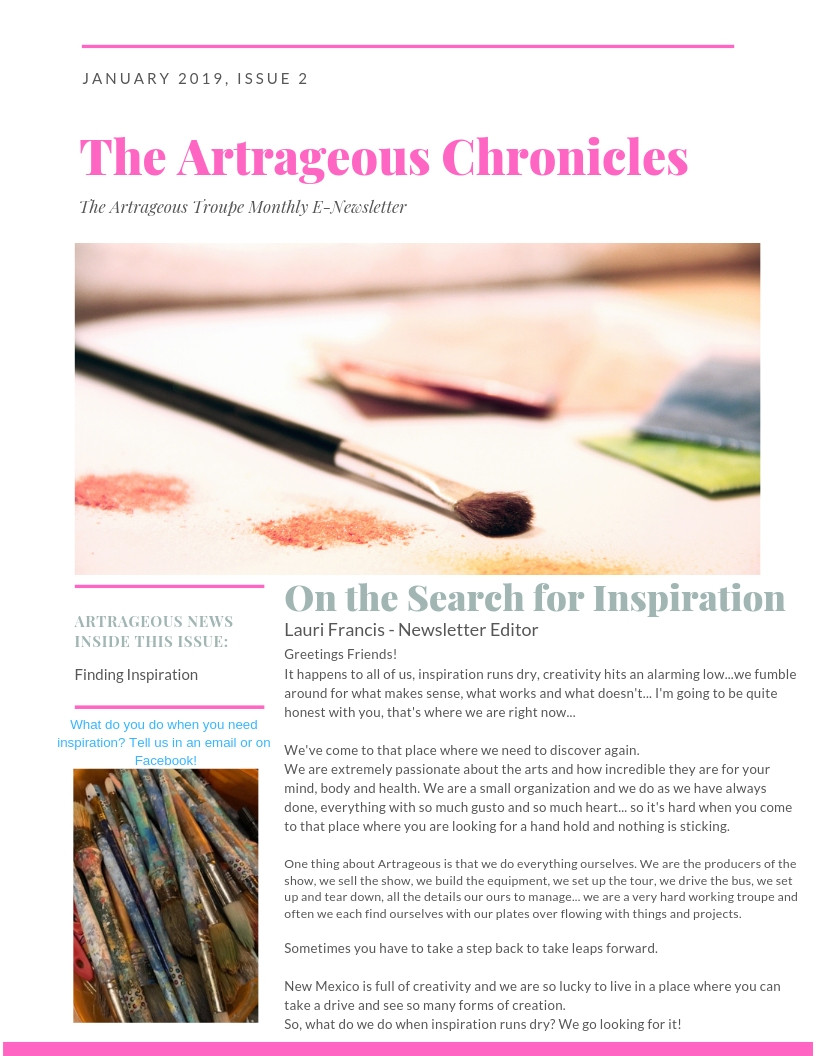 Searching for Inspiration