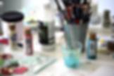 art classes, acrylic painting class