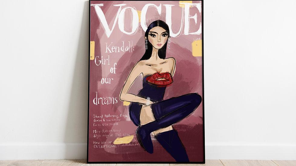 Kendall Vogue Australia
