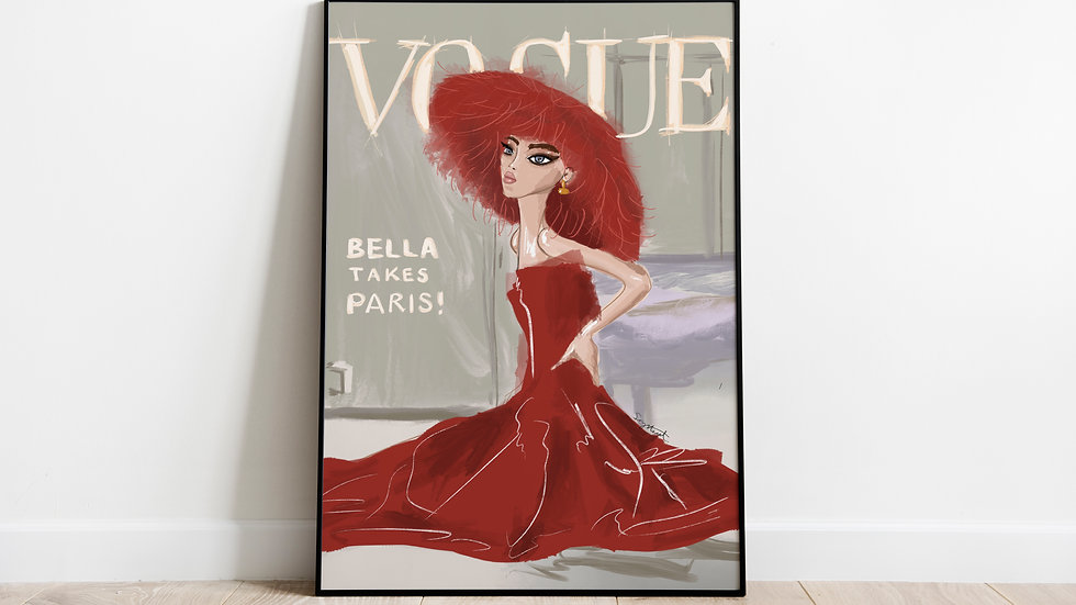 Vogue Cover featuring Bella Hadid