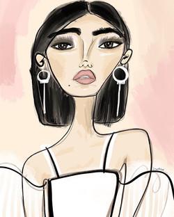 Bespoke portrait for my lovely client La
