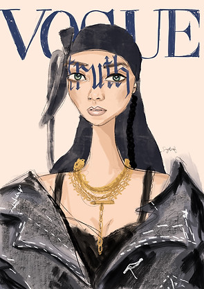 Rhianna Vogue