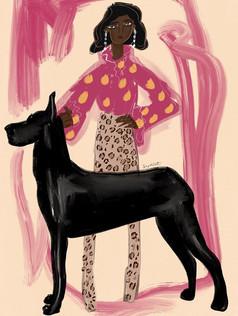 Vogue illustration