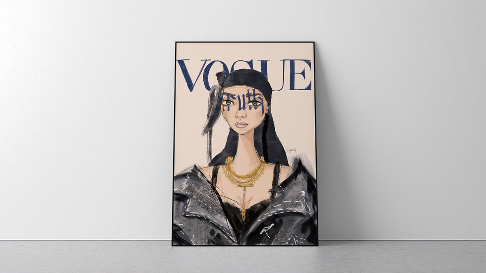 Rhianna British Vogue May 2020